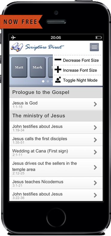 Greek Interlinear Bible App